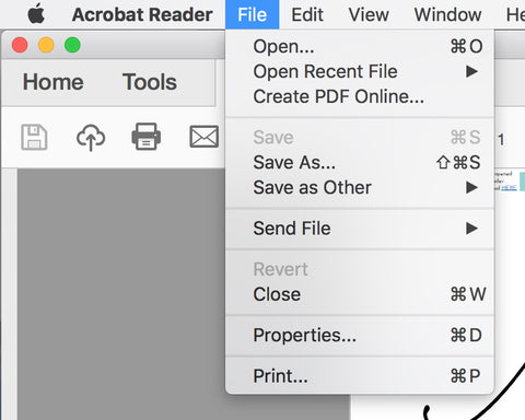 How to Edit a PDF Template Open with Adobe Reader