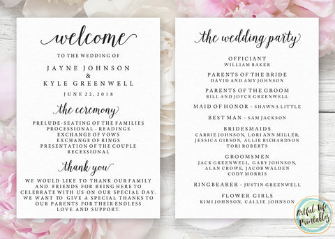 Paper Selection for Wedding Signs & Stationery