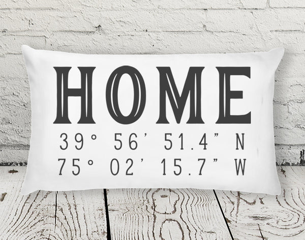 Artful Life Designs HOME Coordinates Pillow 12 x 20 inches