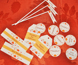 Thanksgiving Celebration Printables, Party Table Favors, Thanksgiving Decor