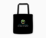 """There is No Planet B"" Tote Bag Back"