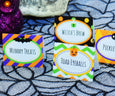 Halloween table tents, buffet table tents, place cards, Halloween place cards, Halloween printables