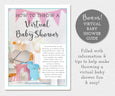Free Bonus Virtual Baby Shower Guide