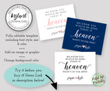 editable wedding memorial sign