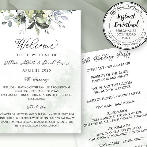 W103 Wedding Stationery & Printables