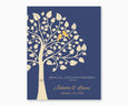 Above All, Love Each Othe Deeply, 1 Peter 4:8, Wedding or Anniversary Wall Art, blue