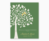 Above All, Love Each Othe Deeply, 1 Peter 4:8, Wedding or Anniversary Wall Art, green