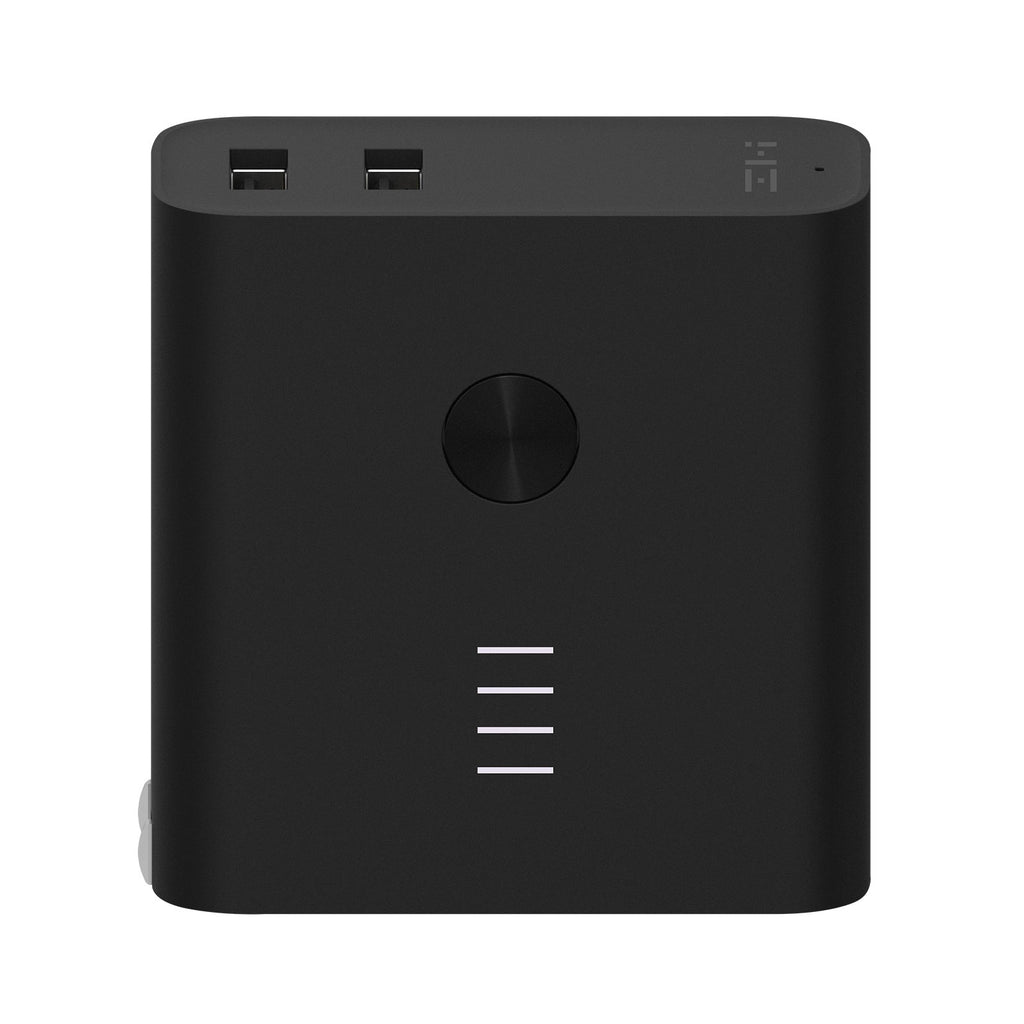 ZMI Plugornot Zero 6700mAh Integrated Battery Fast Charge USB Power Adapter