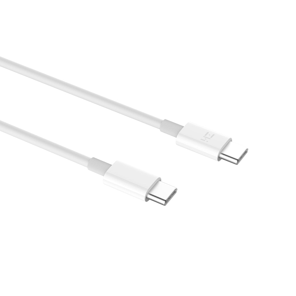 [2-Pack] USB-C to USB-C Cable 3A/60W Rating (5ft)
