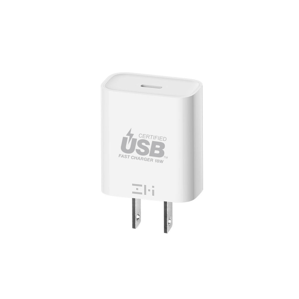 zPower™ Turbo 18W USB-C PD Wall Charger, USB-IF Certified