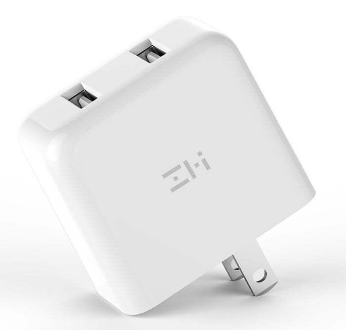ZMI PowerPlug V2 Dual USB Fast-Charge Wall Charger