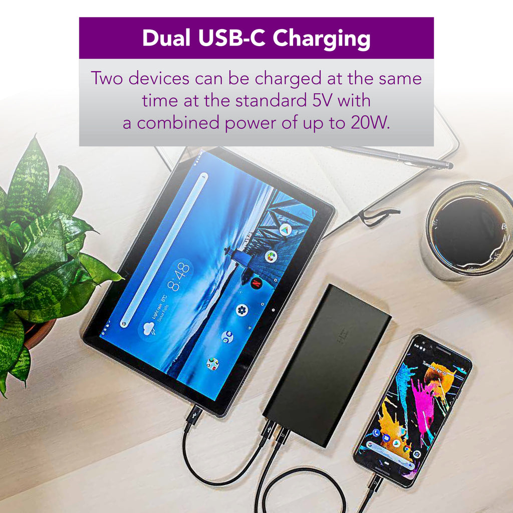 PowerPack Ambi 10K Dual USB-C Power Bank