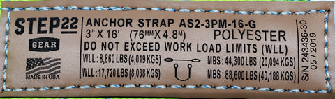STEP 22 Gear Recovery Gear Label