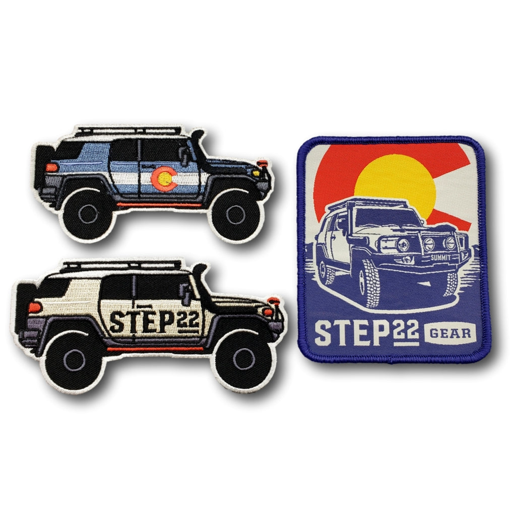 STEP 22 FJ Summit Series Patch Set