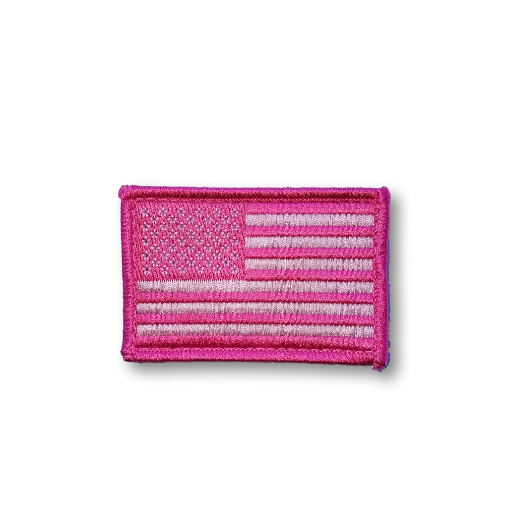 Flag Patch | Pink Breast Cancer Support