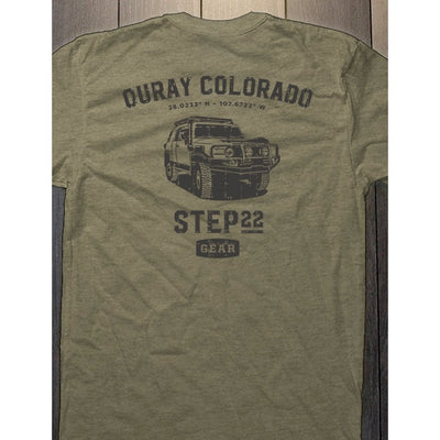 STEP 22 Gear Men's Ouray FJ Cruiser T-Shirt
