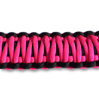 Jeep JK Sound Bar Paracord Grab Handles | STEP 22 Gear Pink