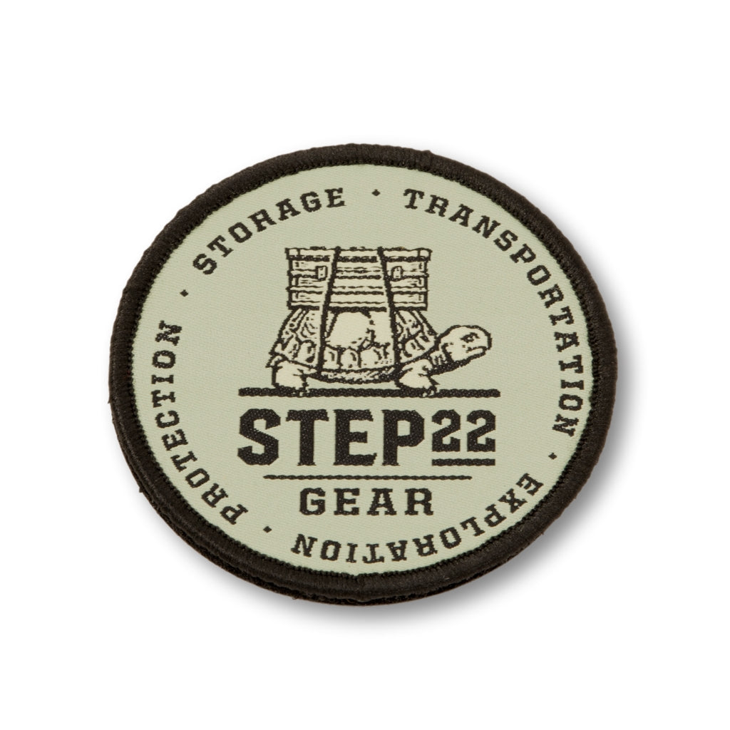 STEP 22 Gear Green Logo Patch