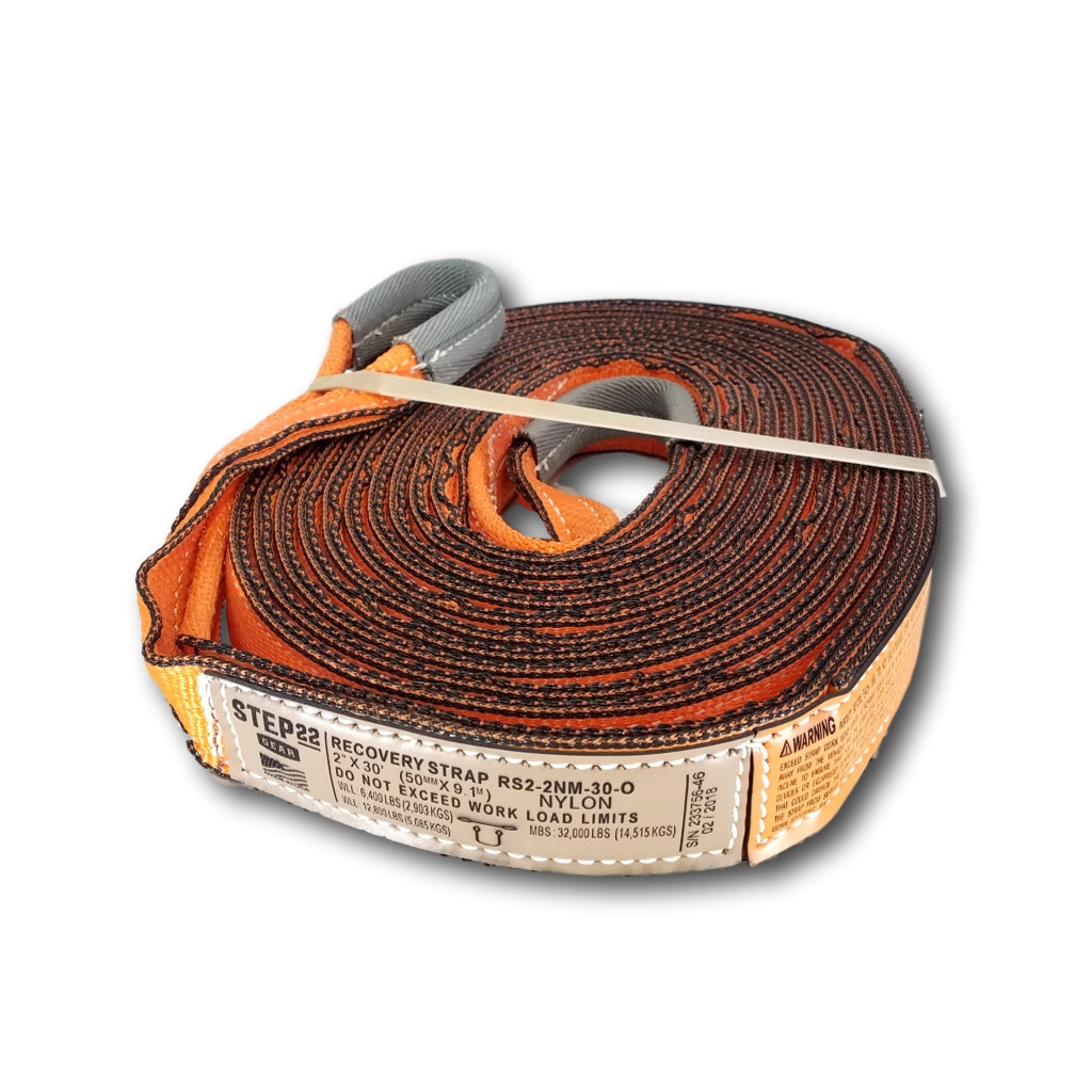 Recovery Strap 2 Inch MBS 32,000 LBS