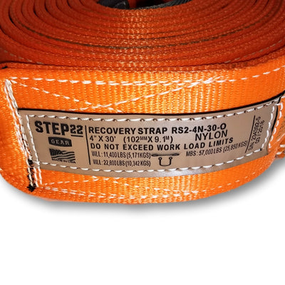 Step 22 Gear Recovery Strap 4 Inch