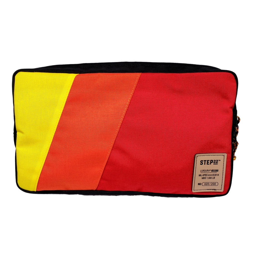STEP 22 Gear TRD Ivan Stewart Racing Stripes Molle Bag Wide