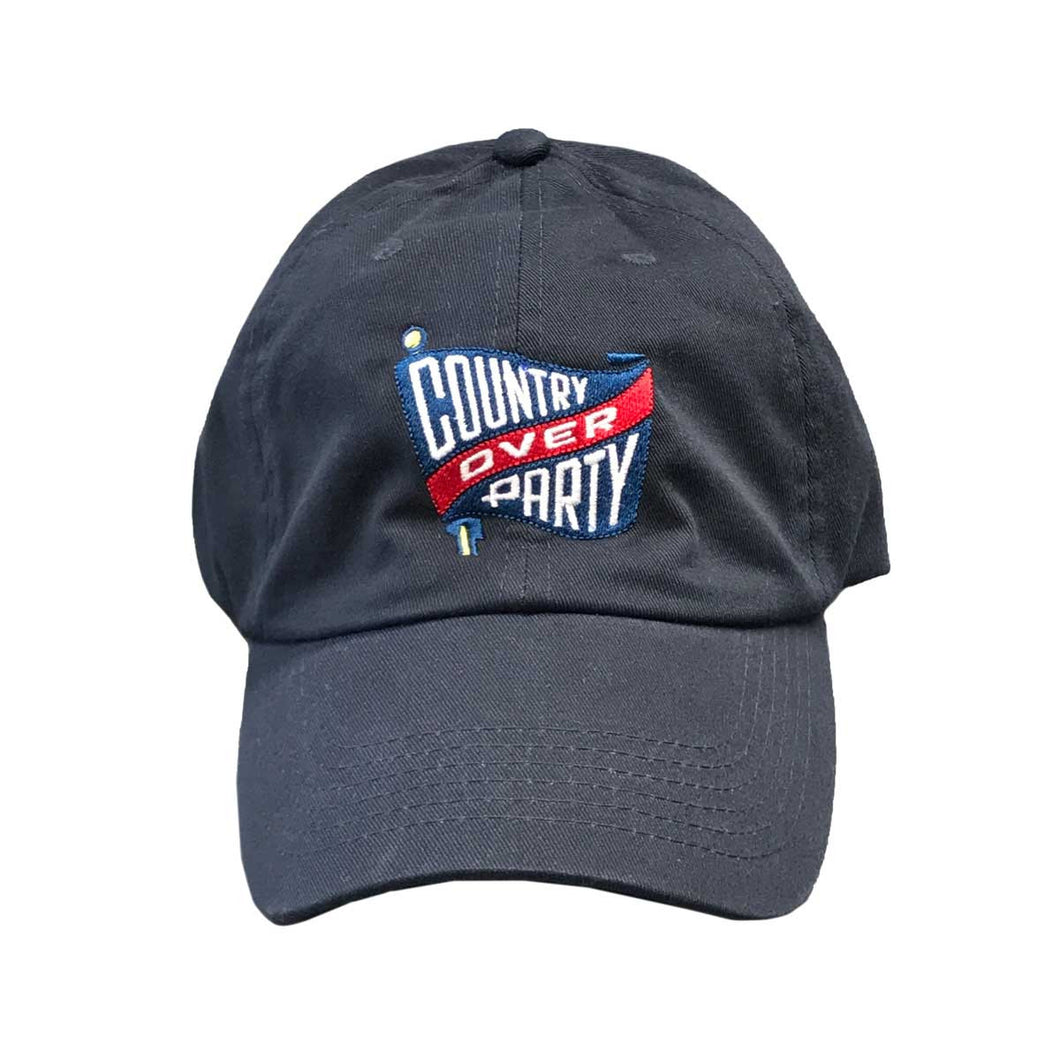 Blue Country Over Party Hat