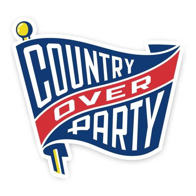 Country Over Party Sticker 5-Pack