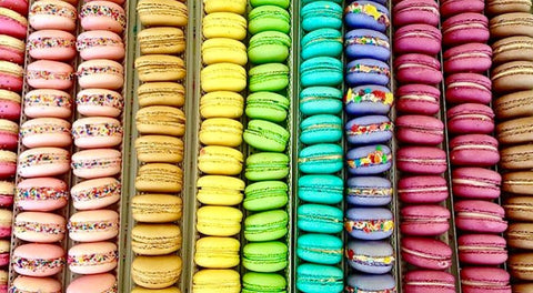 Whitestone Jewelry Co. - Macaron Ring flavors