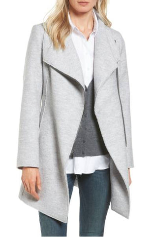 Fall Essentials - Halogen boiled wool coat - Whitestone Jewelry Co.