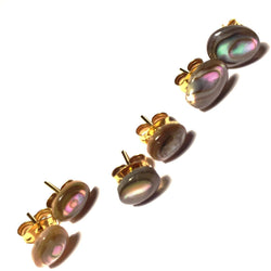 Abalone Stud Earrings-Whitestone Jewelry Co.