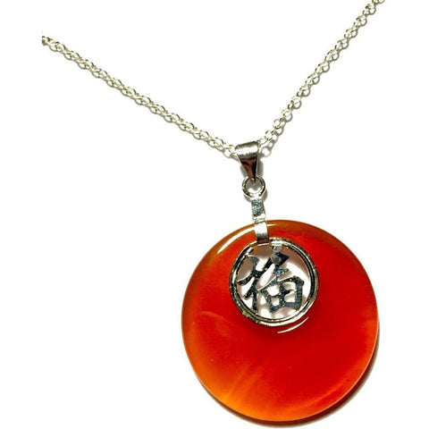 Carnelian Sun Necklace-Whitestone Jewelry Co.