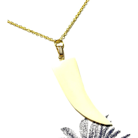 Conch Shell Claw Necklace-Whitestone Jewelry Co.