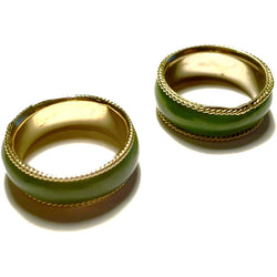 Jade and Gold Ring-Whitestone Jewelry Co.
