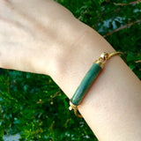 Jade Tension Cuff Bracelet-Whitestone Jewelry Co.