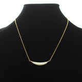 Mother of Pearl Gold Necklace-Whitestone Jewelry Co.