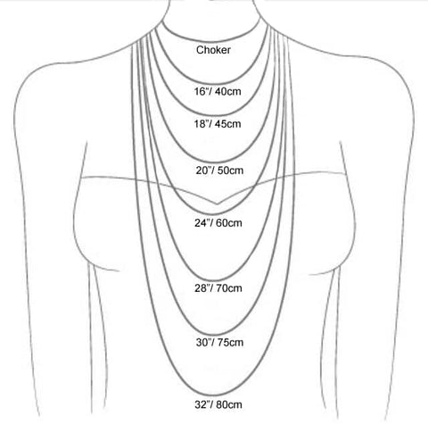 Necklace Lengths Guide