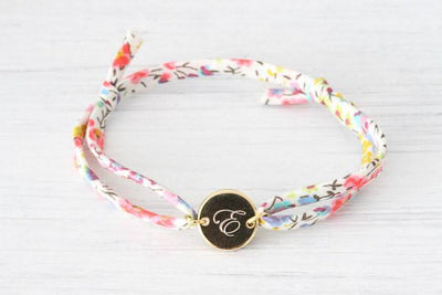 Liberty of London personalized Initial Gold Bracelet - product_type] - Beautiz
