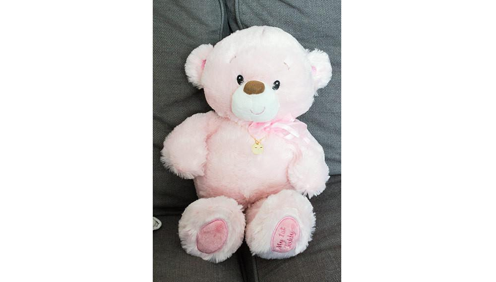 pink teddy bear birth gifts baby plush baby gifts ch beautiz