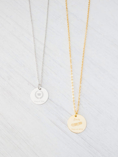 Personalized Gold or Silver Monogram Initial Name Necklace - product_type] - Beautiz