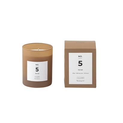 NO. 5 - Sea Salt ilmkerti, Soy wax