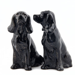 COCKER SPANIEL salt og pipar sett