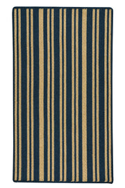 LMCo. Home Blue Stripe Rug