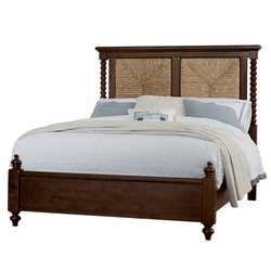 Scotsman Co. American Heirloom Collection Seagrass Bed with Low Profile Poster Footboard