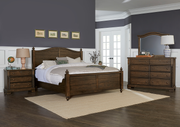 Scotsman Co. American Heirloom Collection Poster Bed with High Poster Footboard