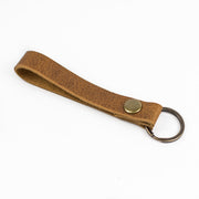 Leather Lanyard Key Ring