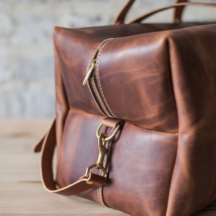 Scotsman Leather Duffle