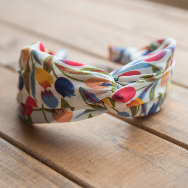 Lucy's Tulip Floral Headband