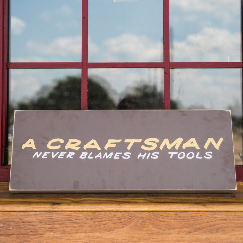 Craftsman Sign