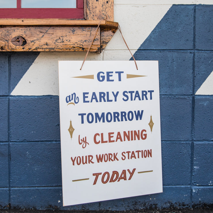 Early Start Sign