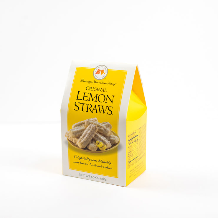 Mississippi Cheese Straw Factory Lemon Straws